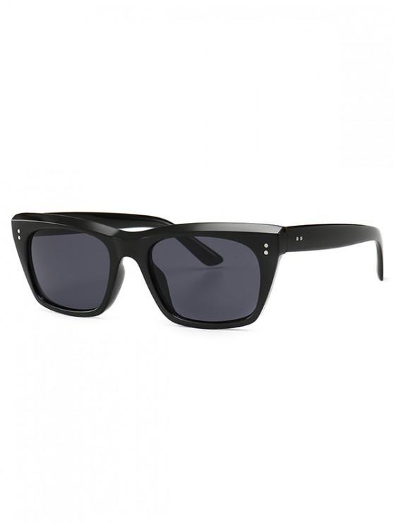 new Unisex Simple Style Retro Sunglasses - BLACK