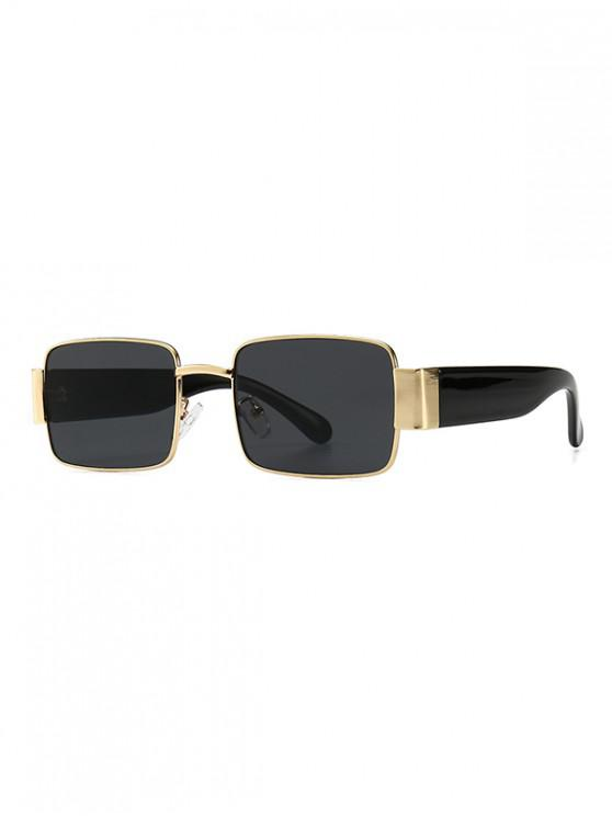 affordable Rimless Punk Style Sunglasses - BLACK