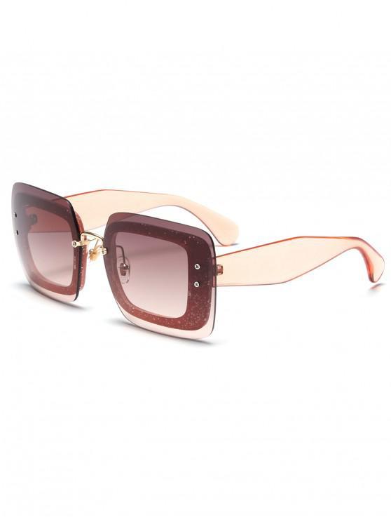 Gafas de sol cuadradas Translucence Design - Cerdo Rosa
