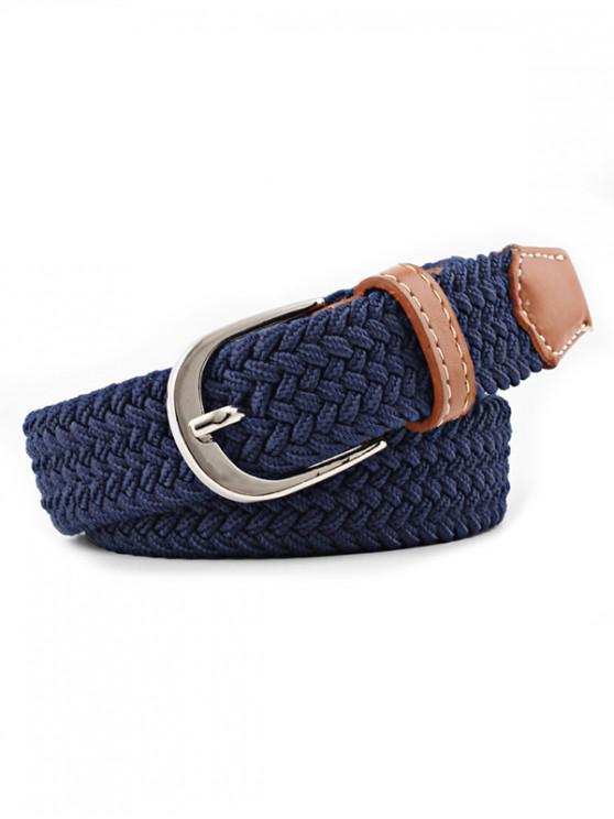 new Braid Elastic Pin Buckle Belt - CADETBLUE