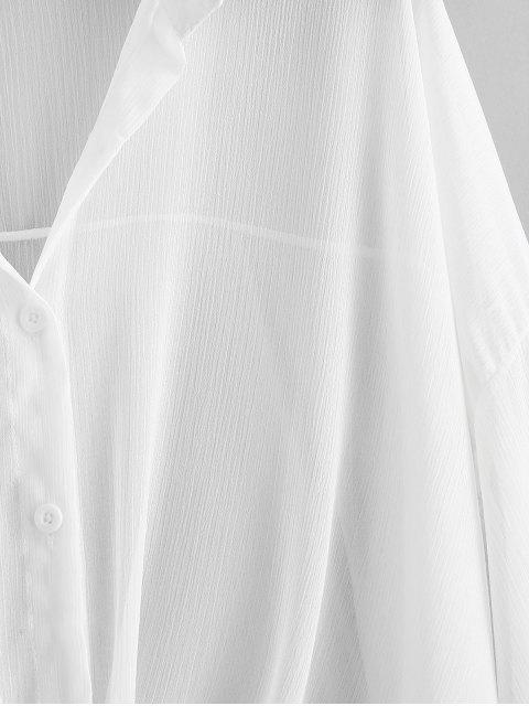 Taste- Fallschulter-Abdeckung - Weiß Eine Größe Mobile