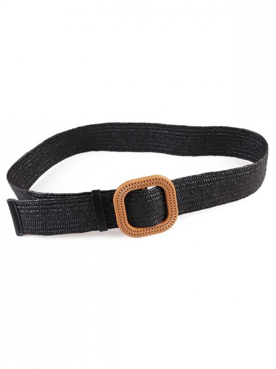 fancy Vintage Weaving Buckle Waist Belt - MULTI-A