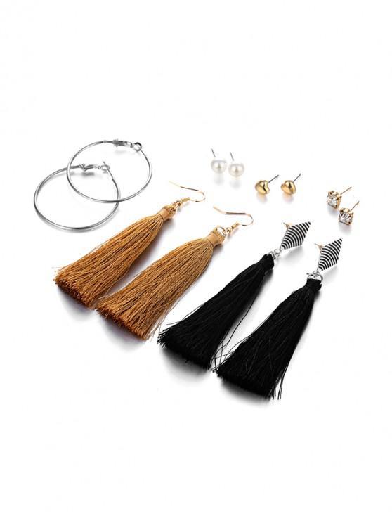 shop Bohemian Style Earrings Set - MULTI