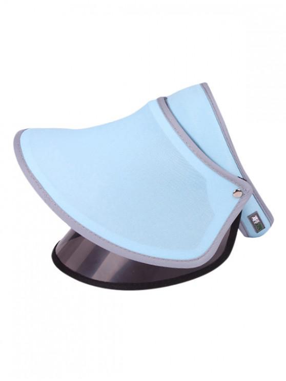 fancy Visor Outdoor UV Protection Sun Hat - DAY SKY BLUE