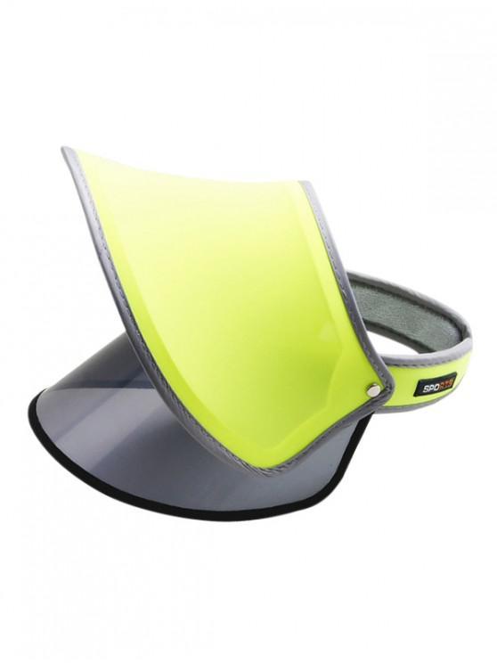 Visera al aire libre protección UV Sombrero para el sol - Té Verde