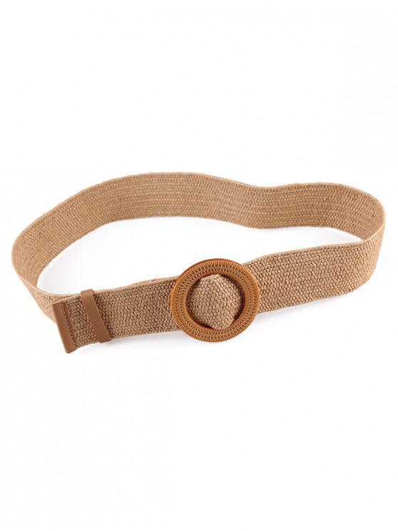 womens Vintage Weaving Buckle Waist Belt - MULTI-E