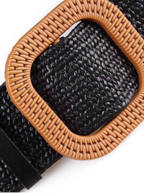 fancy Vintage Weaving Buckle Waist Belt - MULTI-A  Mobile