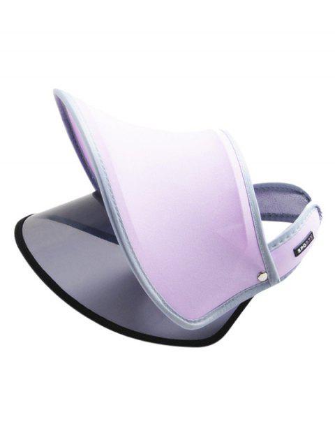 women's Visor Outdoor UV Protection Sun Hat - MAUVE  Mobile