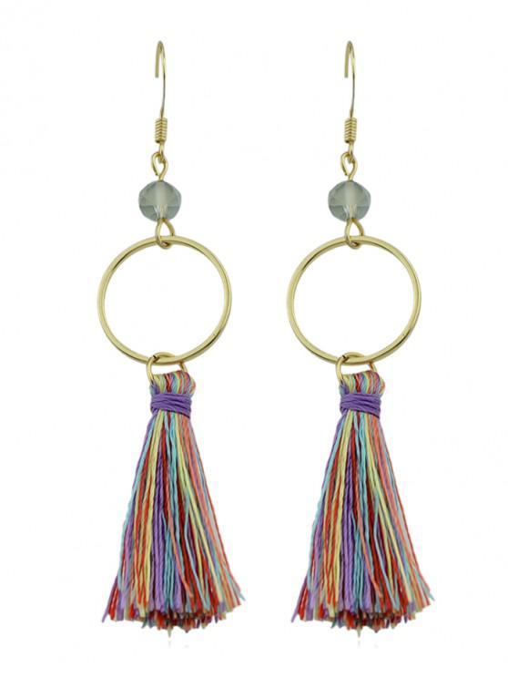 best Tassel Bohemia Style Dangle Earrings - GOLD