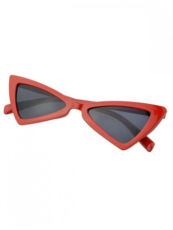 outfit Beach Outdoor Triangle Sunglasses - GRAY