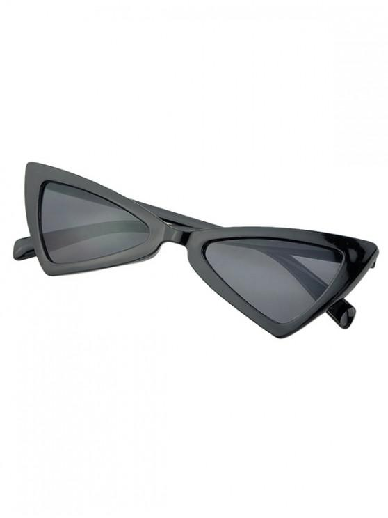 shop Beach Outdoor Triangle Sunglasses - BLACK