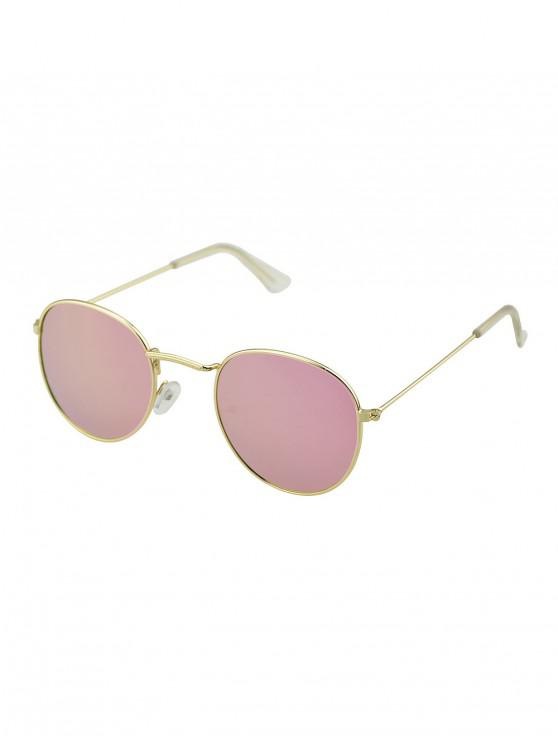 best Vintage Metal Frame Sunglasses - LIGHT PINK