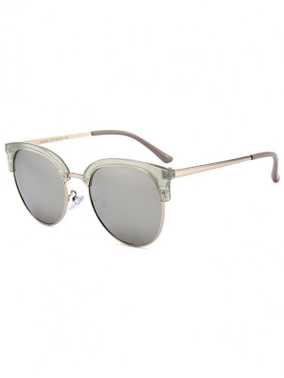 lady Vintage Club Round Sunglasses - GRAY