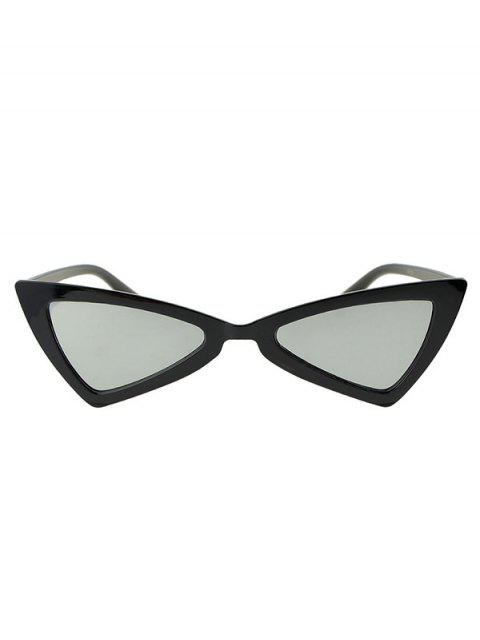 ladies Beach Outdoor Triangle Sunglasses - SILVER  Mobile