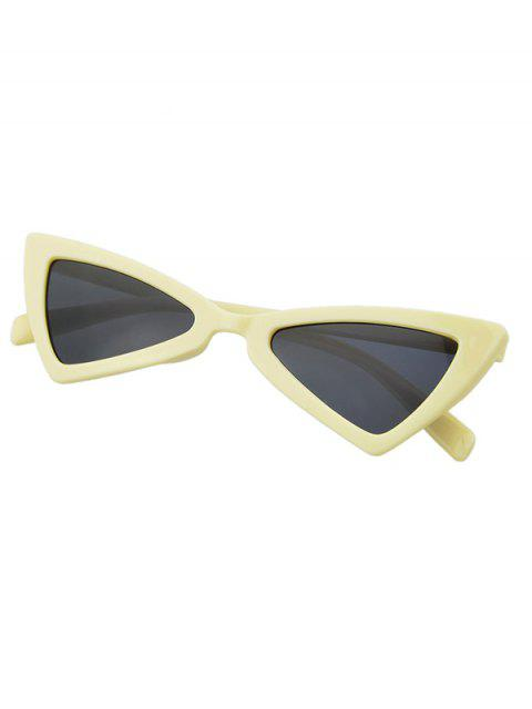 fancy Beach Outdoor Triangle Sunglasses - BEIGE  Mobile