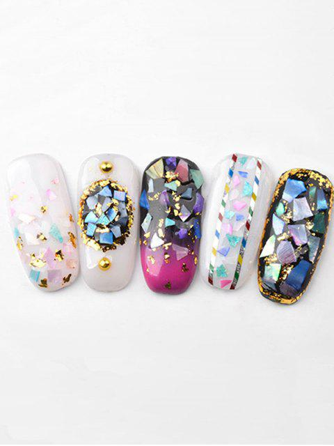 fancy 12Pcs Shell Highlight Professional Ultra-thin Nail Decoration - MULTI-A  Mobile