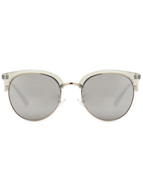 lady Vintage Club Round Sunglasses - GRAY  Mobile