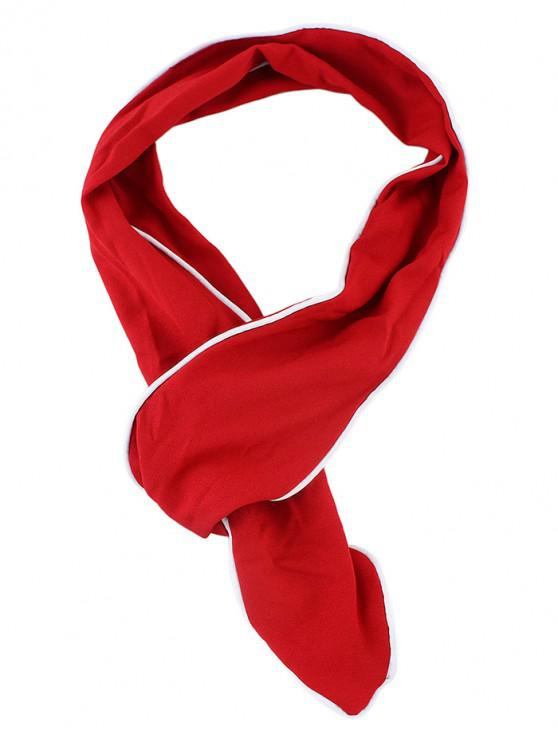 hot Deformable Cloth Scarf Headband - RED