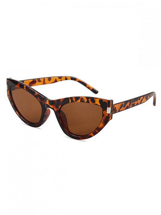 online Kitty Eye Full Rim Sunglasses - LEOPARD