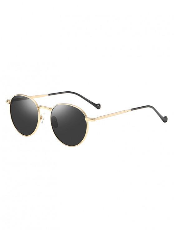 shop Metal Frame Driver Polarized Sunglasses - GOLD
