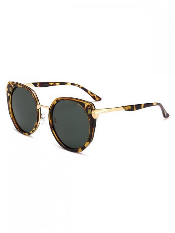 women Polarized Round Anti UV Sunglasses - LEOPARD