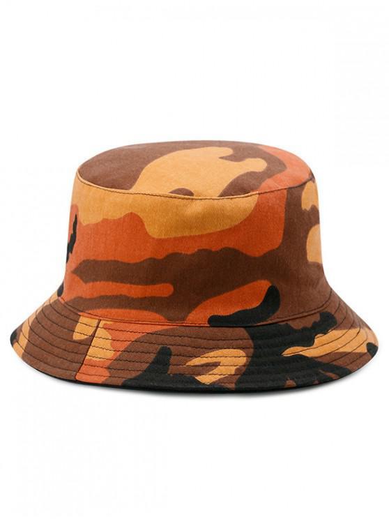 latest Cotton Disruptive Pattern Bucket Hat - MULTI-C