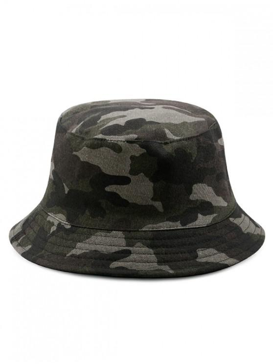 women's Cotton Disruptive Pattern Bucket Hat - MULTI-D