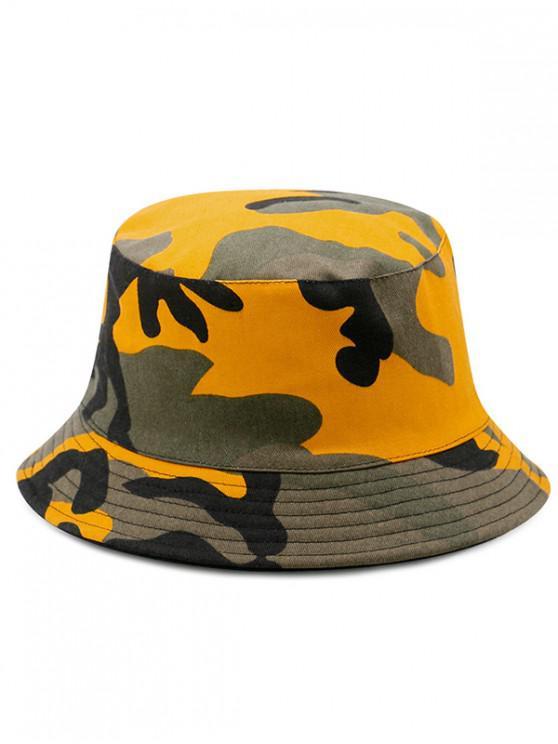 chic Cotton Disruptive Pattern Bucket Hat - MULTI-B