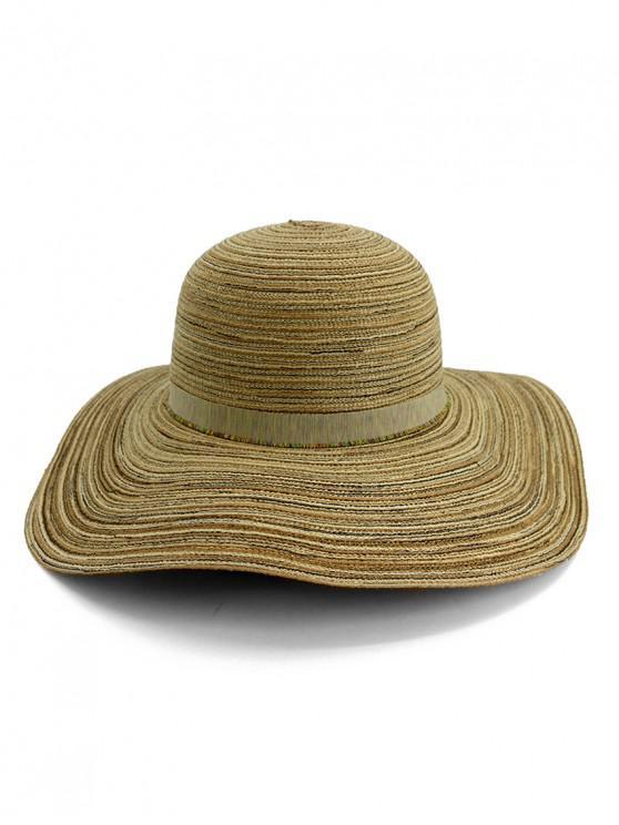 d097d62af Wide Brim Striped Folding Beach Hat