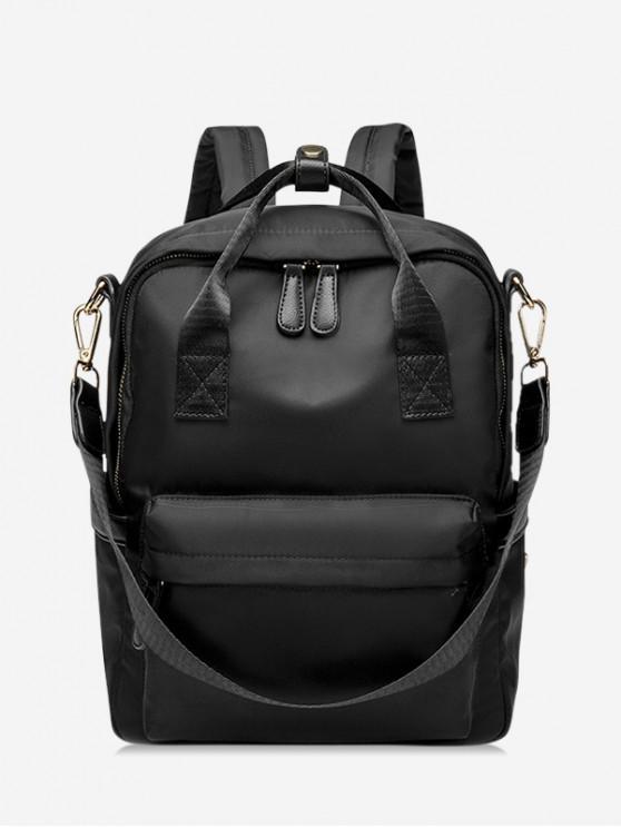 fancy Large Capacity Multi Functional Travel Backpack - BLACK