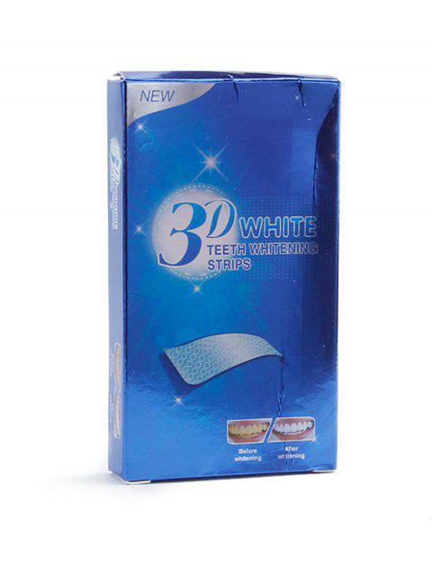 new 14Pcs 3D Teeth Whitening Dental Veneers - COBALT BLUE  Mobile