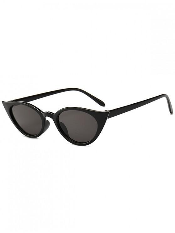 online Irregular Shape Stylish Sunglasses - BLACK REGULAR