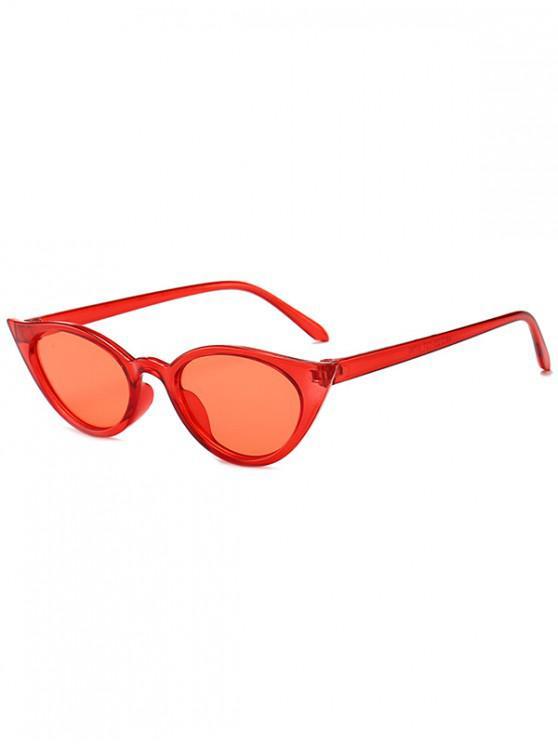 new Irregular Shape Stylish Sunglasses - LAVA RED REGULAR