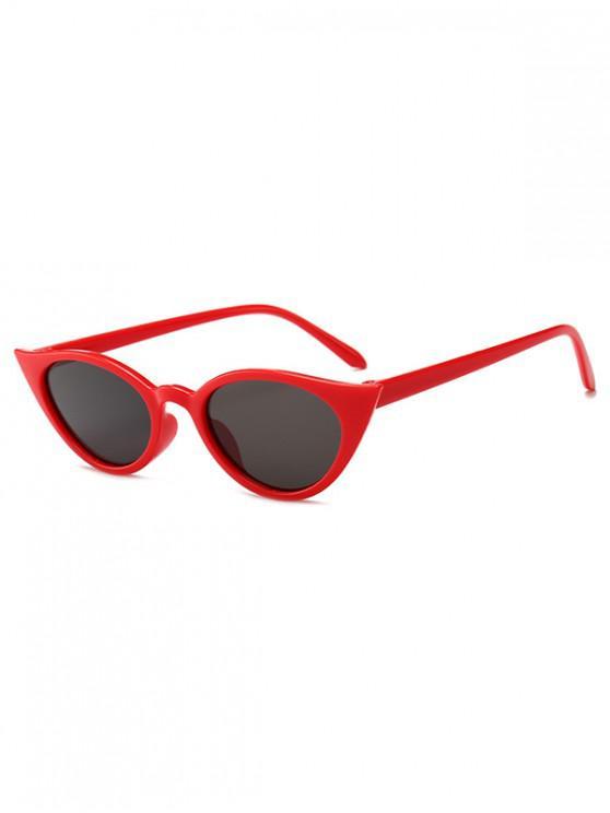 hot Irregular Shape Stylish Sunglasses - RUBY RED REGULAR