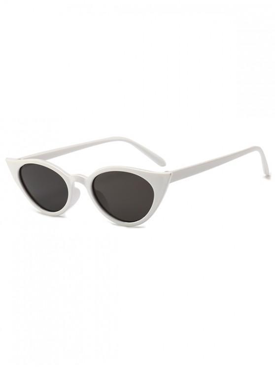 latest Irregular Shape Stylish Sunglasses - MILK WHITE REGULAR