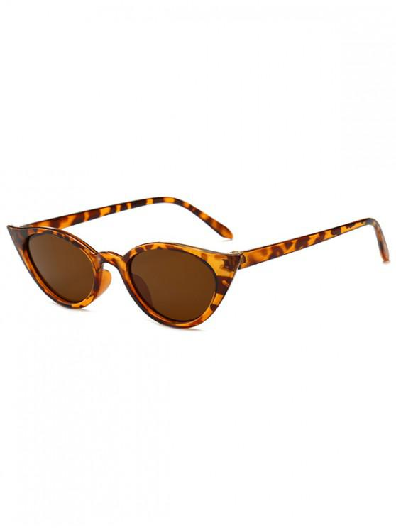 womens Irregular Shape Stylish Sunglasses - LEOPARD REGULAR