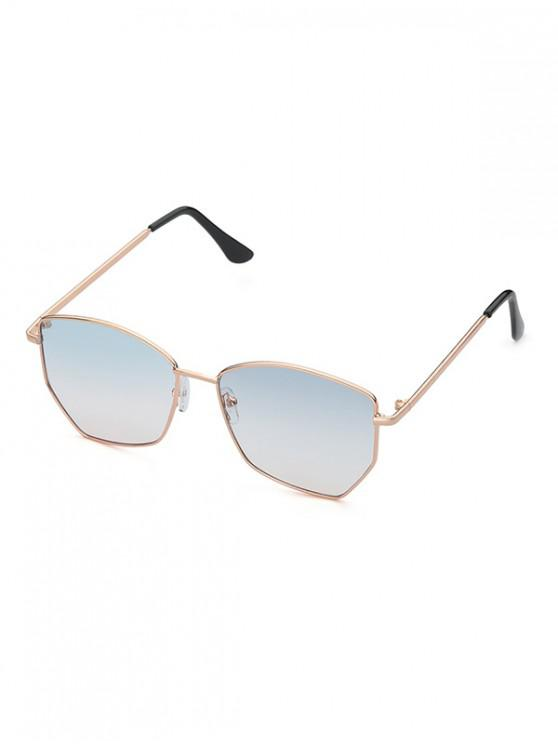 shop Metal Irregular Outdoor Sunglasses - MULTI