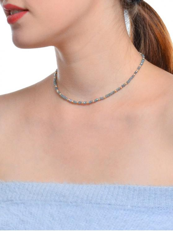 new Beads Bohemia Style Necklace - GRAY