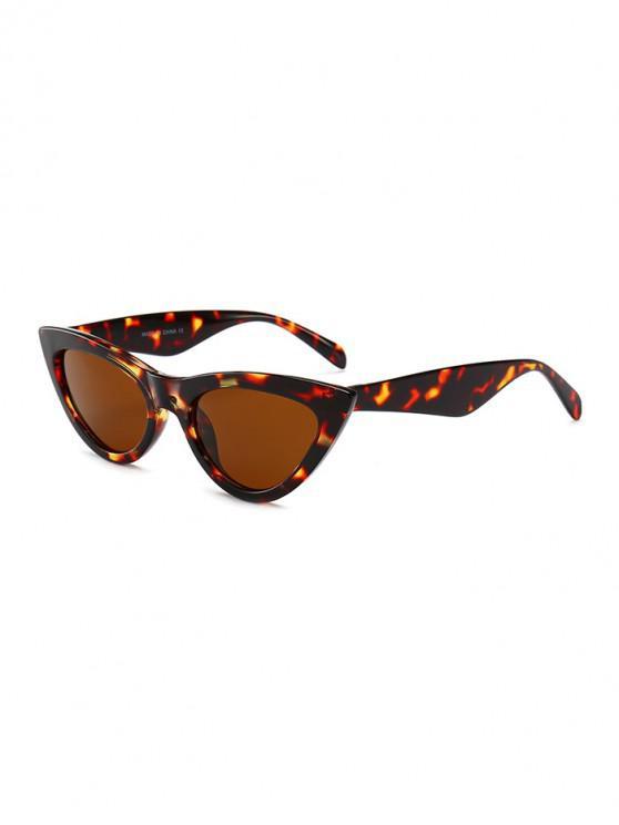 ladies PC Kitty Eye Sunglasses - LEOPARD REGULAR