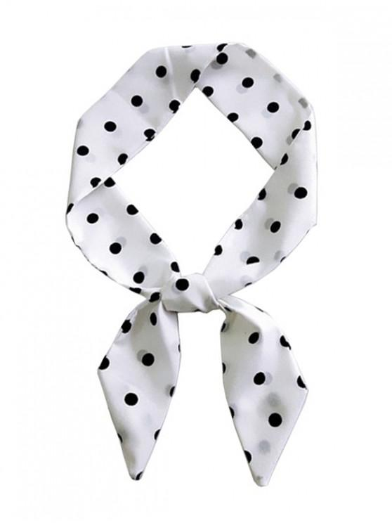 fashion Print Narrow Neck Scarf - MULTI-M 90CM
