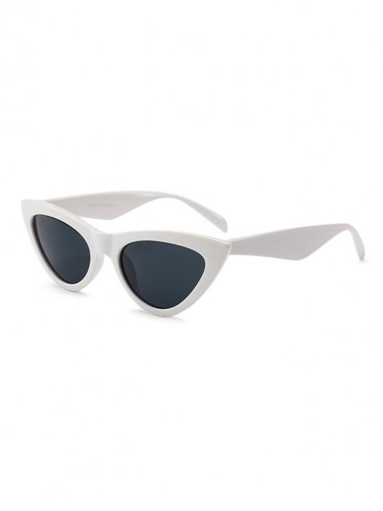 unique PC Kitty Eye Sunglasses - COOL WHITE REGULAR