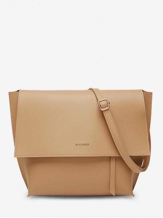 fancy Ins Style Shoulder Bag - BROWN