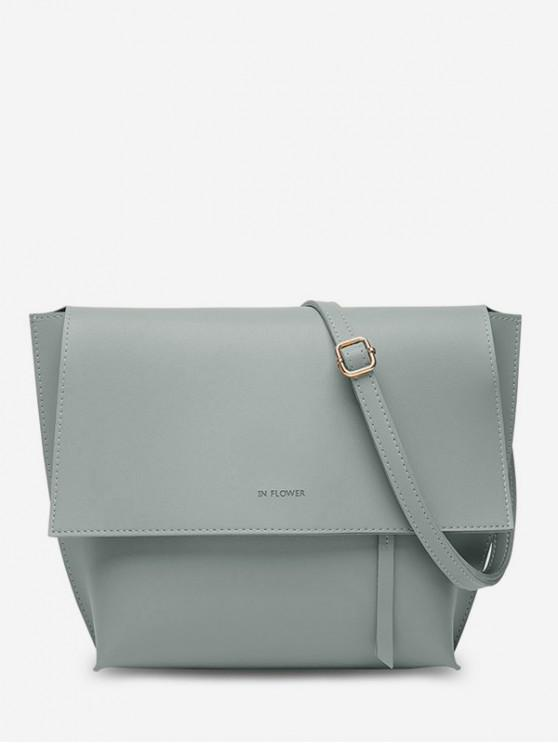 sale Ins Style Shoulder Bag - GRAY