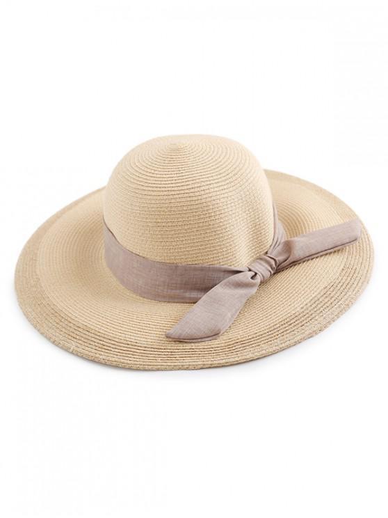 unique Bowknot Straw Sun Hat - MULTI-C