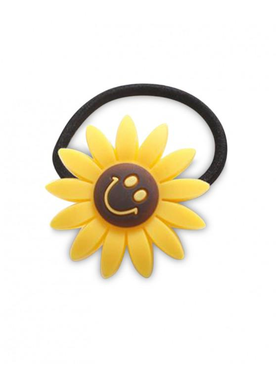 outfits College Style Sunflower Smile Hairband - YELLOW
