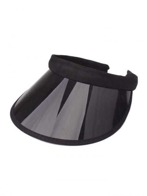 Цвет конфеты Прозрачная Шляпа - Чёрный  Mobile