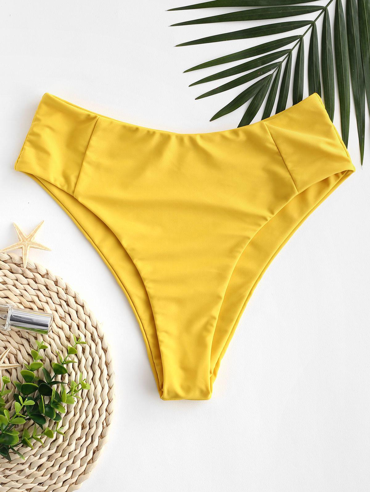 ZAFUL Seam High Leg Bikini Bottom фото