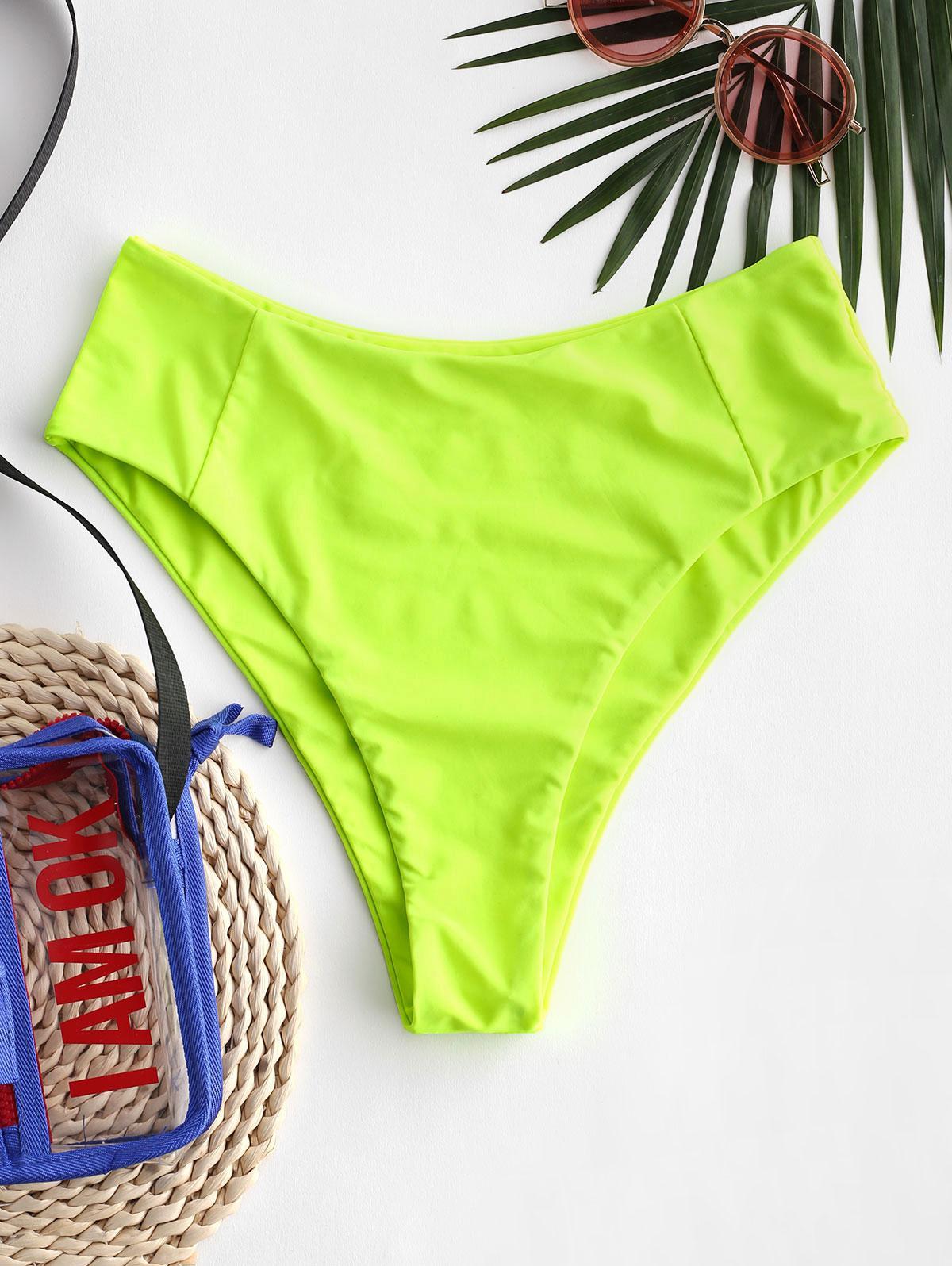 ZAFUL Seam High Leg Bikini Bottom фото