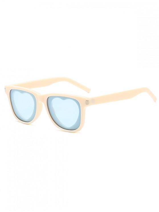 online Heart Sun Protection Sunglasses - CORN YELLOW REGULAR