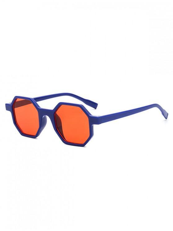 hot Outdoor Anti UV Irregular Sunglasses - NAVY BLUE REGULAR